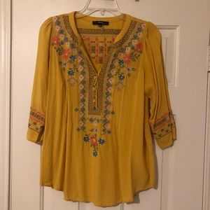 Boutique Bohemian Style Shirt